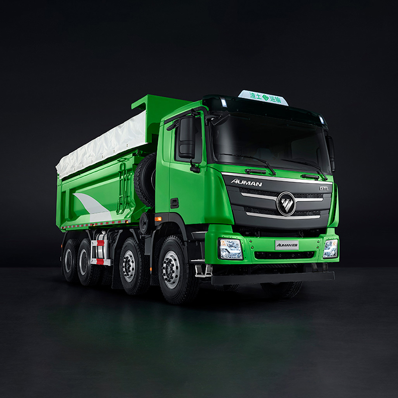 欧曼 GTL 2019款 6×4 福康 400马力 (城建渣土型)