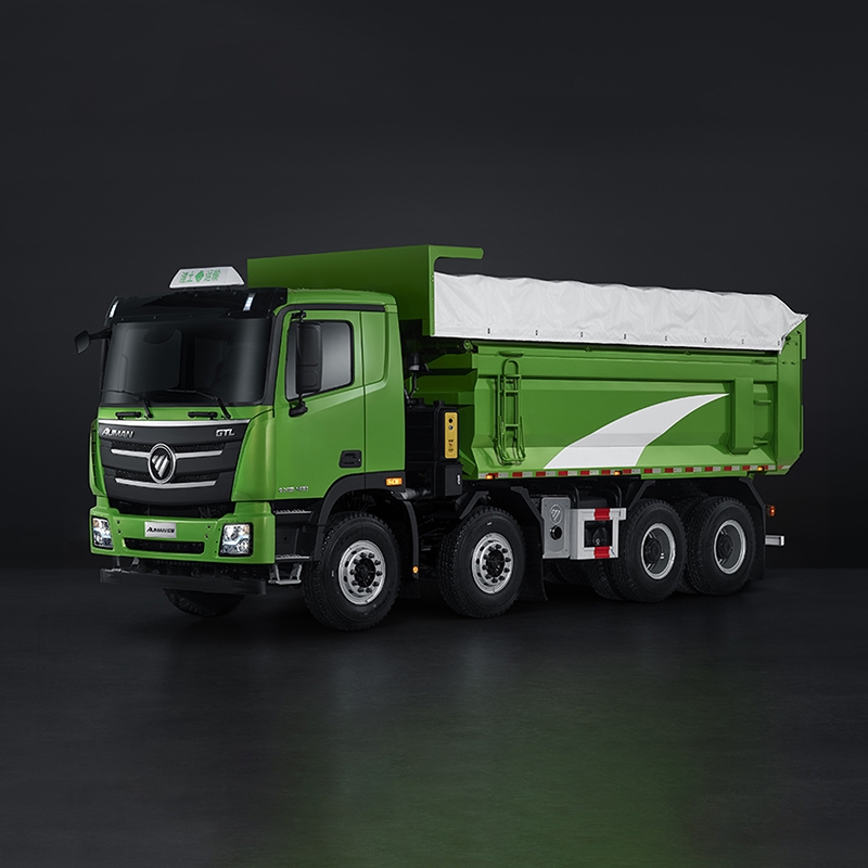 欧曼 GTL 2019款 8×4 福康 380马力 (城建渣土型)